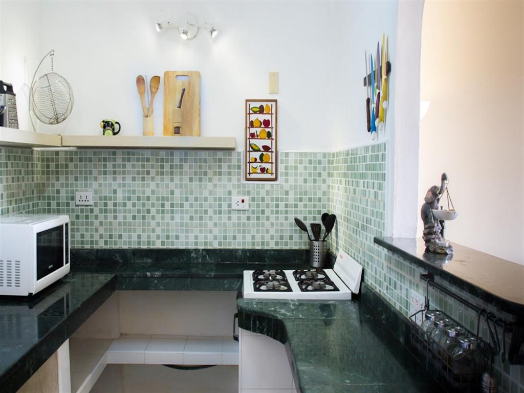 Apartamento La Plaza -                                                 Cocina