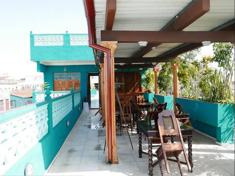 Hostal Florida Center  -                                                 Terraza