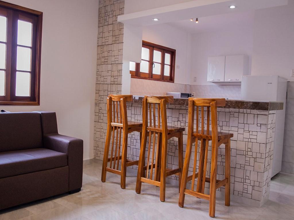 Apartamento Minimal 3 -                                                 Sala de estar