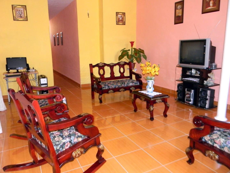 Casa Cuba  -                                                 Sala de estar