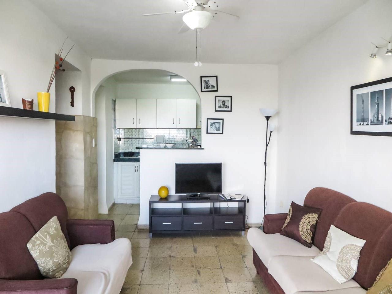 Apartamento La Plaza -                                                 Sala de estar